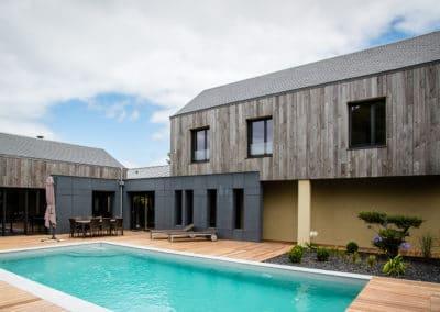Maison bois à Saint-Malo