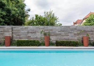 Aménagement d'un jardin privé
